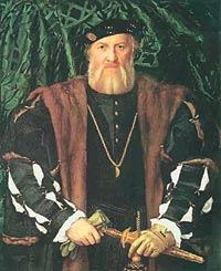 """Ханс Хольбейн Младший. """"Шарль де Солье, сьёр де Моретт, французский посол в Лондоне"""". 1534 год. В эпоху Возрождения вельможных людей на парадных портретах изображали в перчатках. Этот обычай сохранился вплоть до XIX века."""