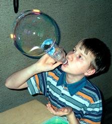 Приспособления для мыльных пузырей своими руками
