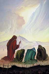 """В. Брегеда. """"Пророчество"""". 1994 год."""