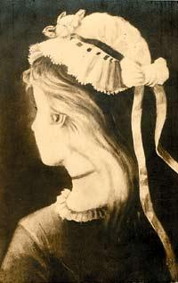 """Почтовая открытка. """"Моя жена и моя теща"""". Начало ХХ века. Россия."""